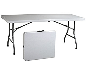 White Plastic Folding Tables for Sale