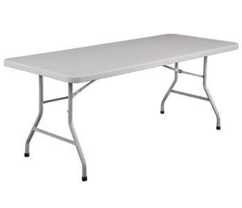 Rectangular Plastic Folding Tables for Sale