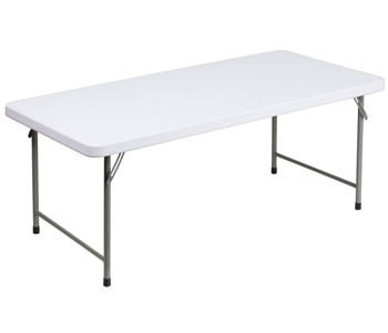 White Plastic Folding Tables