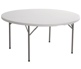 Plastic Round Folding Tables for Sale